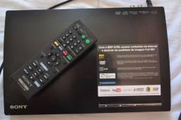 Sony blu-ray player bdp-s190 full hd promoção de natal