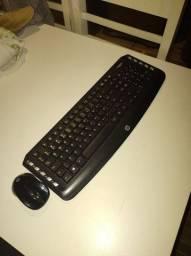 Teclado e Mouse sem fio HP