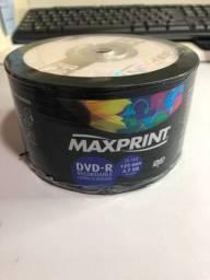 DVD para gravação MAXPRINT