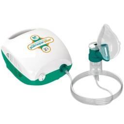 Inalador e Nebulizador Pulmopar Plus Soniclear com Controle de Névoa Bivolt Novo Lacrado