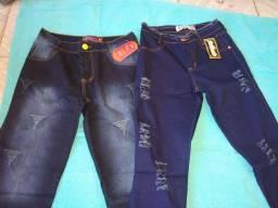 Shorts e calças jeans