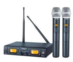 Microfone Sem Fio Staner, Modelo SRW 48 D