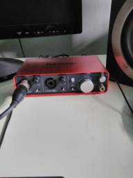 Interface de audio Focusrite 1°st