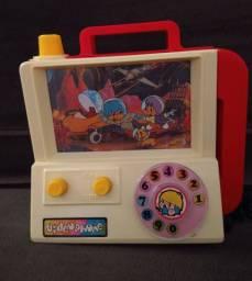 Brinquedo antigo vídeo phone