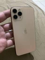 Título do anúncio: iPhone 11 Pro gold