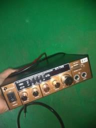 Mini amplificador de som