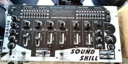 Mixer Csr Sba-168 T Sound Skill 4 Canais