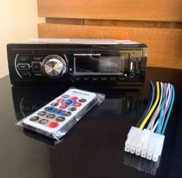 Rádio Automotivo MP3 Bluetooth, FM, USB, Cartão S