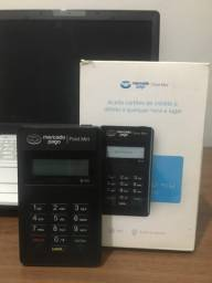 Máquina de cartão mercado pago point mini