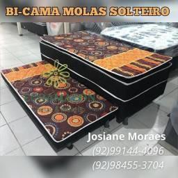 Título do anúncio: BI-CAMA MOLAS SOLTEIRO // ENTREGAMOS