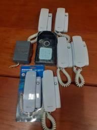 Interfone Lider,06 canais.