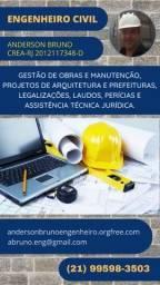 Título do anúncio: Engenheiro Civil Anderson Bruno   Perito Judicial   RJ