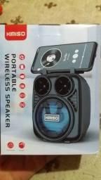 Caixas de som via Bluetooth