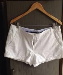 Short Zara branco