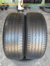 Título do anúncio: Par de pneus 185/55/16 Bridgestone em bom estado