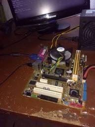Kit 775 ddr2 com 2 gigas apenas 200 reais