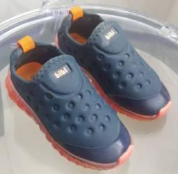 [Hoje!] Tênis Infantil Bibi - Solado LED Luminoso! Num 25