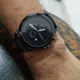 Título do anúncio: Relógio masculino pulseira de couro quartzo