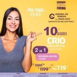 Título do anúncio: Betim Centro Promoção Criofrequência