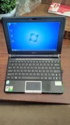 [NETBOOK] Asus Eee PC modelo 1000HA Proc. Intel Atom 2gb RAM SSD de 120gb (rápido!)