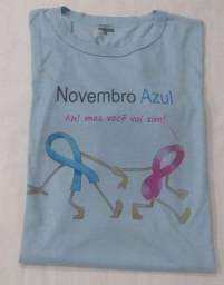 Título do anúncio: Camisa de Malha  Novembro Azul