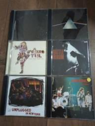 6 Cds Pink Floyd Metallica Nirvana U2 Ramones