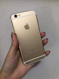 Iphone 6s dourado 128gb - 100%