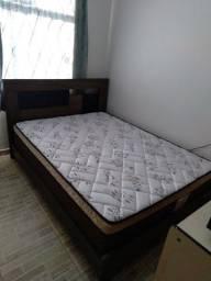 Título do anúncio: Vende-se cama de casal com colchão