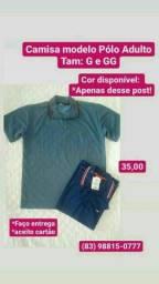 Título do anúncio: Camisa Masculina