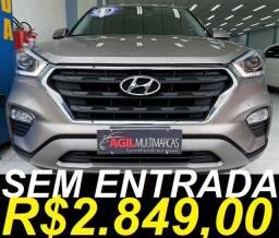 Título do anúncio: Hyundai Creta 2.0 Prestige Aut. 2019 Único Dono