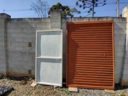 2 Portão usados barato... medidas na descrição.