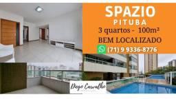 Título do anúncio: Spazio Pituba - Apartamento 3 quartos Pituba, bem localizado - (R7)