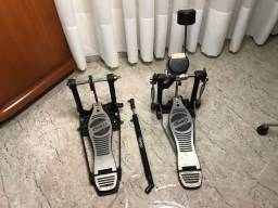 Pedal duplo Mapex - perfeito estado