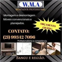Título do anúncio: Montador de móveis * !!!