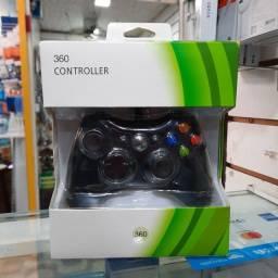 Título do anúncio: Controle de Xbox 360 e PC USB com fio