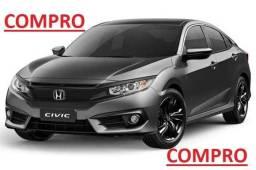 Título do anúncio: Compro Civic Touring Av