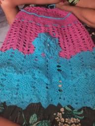 Capa para botijão em crochê