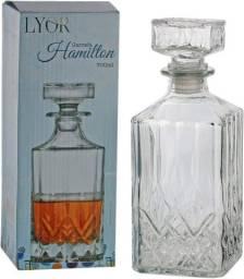 Título do anúncio: Garrafa whisky vidro dublin 700ml 7248.