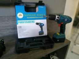Parafusadeira 12V bivolt / produto novo