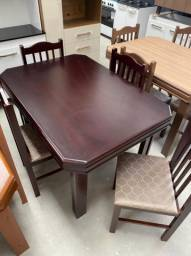 Mesa de jantar com 4 cadeiras - ENTREGAMOS!