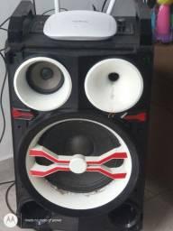 Título do anúncio: Caixa de som amplificada Mondial