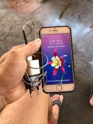 Título do anúncio: iPhone 6 prata 64 GB zero !!!