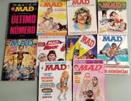 Revistas Mad anos 90 + edição especial dos EUA
