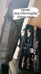 Sax Soprano Reto, Michael Envelhecido / Avalio troca em iPhone