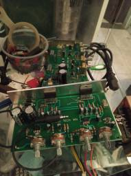 Amplificador máquina de música