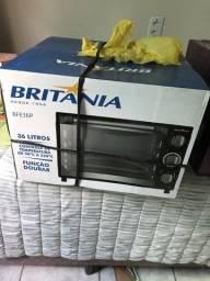 Título do anúncio: Vendo forno britania 32 litros novo lacrado