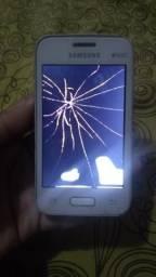 Samsung Galaxy Young duos display queimado