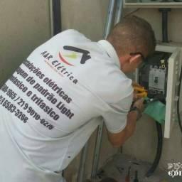 Eletricista credenciado Elétrica geral montamos padrão mono e trifasico zap 99201-0326