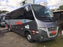 Microônibus rodoviário DW9 mercedes 2013 com banheiro - 2013