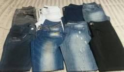 0196bce99 Calças Jeans femininas 42 e 44 semi novas